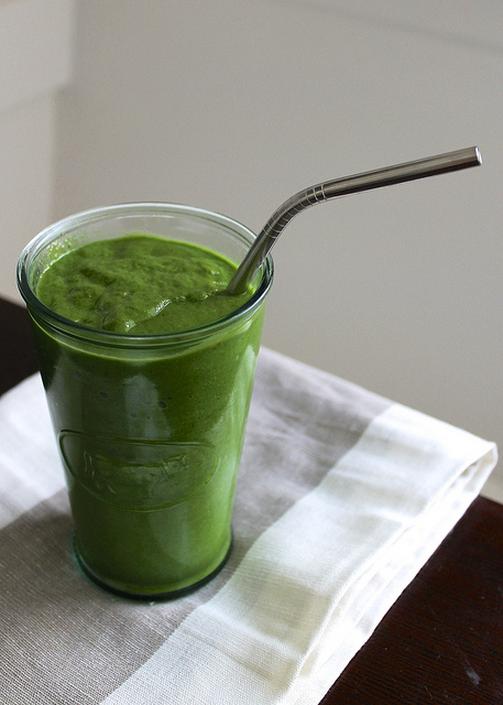 2.  Energy Boosting Morning Green Smoothie . See recipe  here .