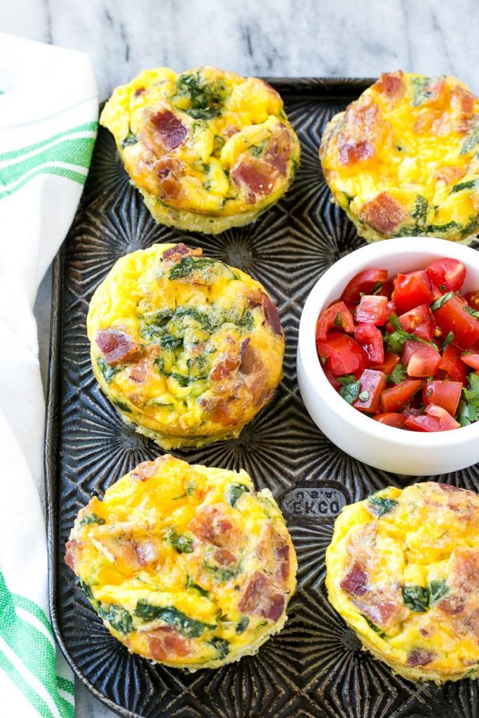 2.  Breakfast Egg Muffins . See recipe  here .