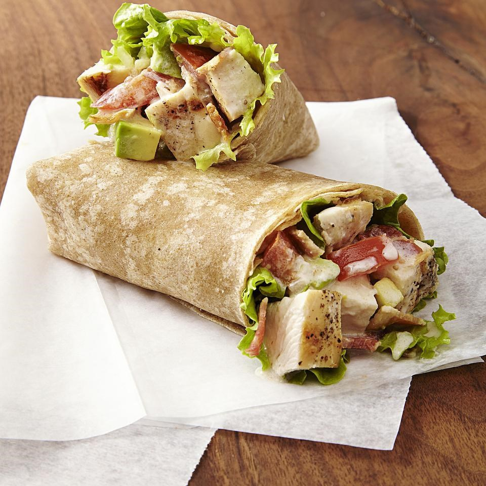 2.  Chicken Club Wraps . See recipe  here .