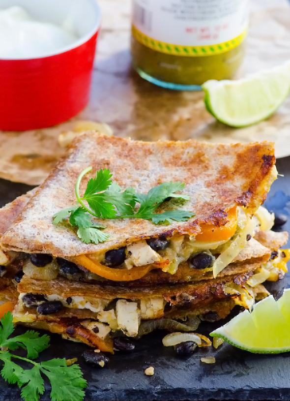 5.  Fajita Quesadillas . See recipe  here .