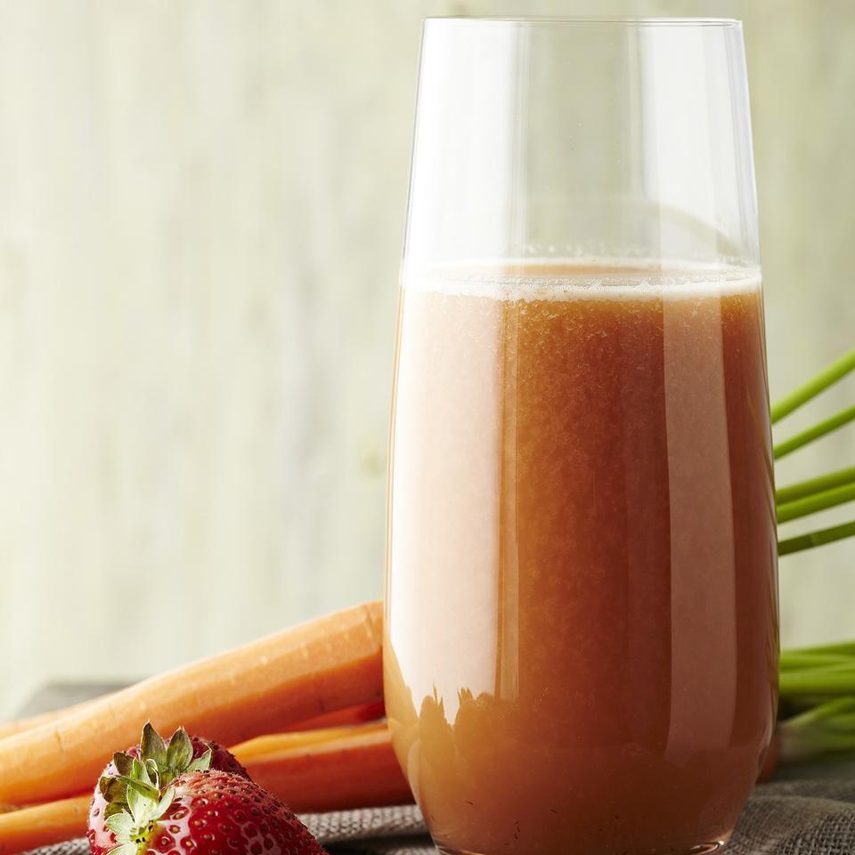 5.  Strawberry Cucumber Juice . See recipe  here.