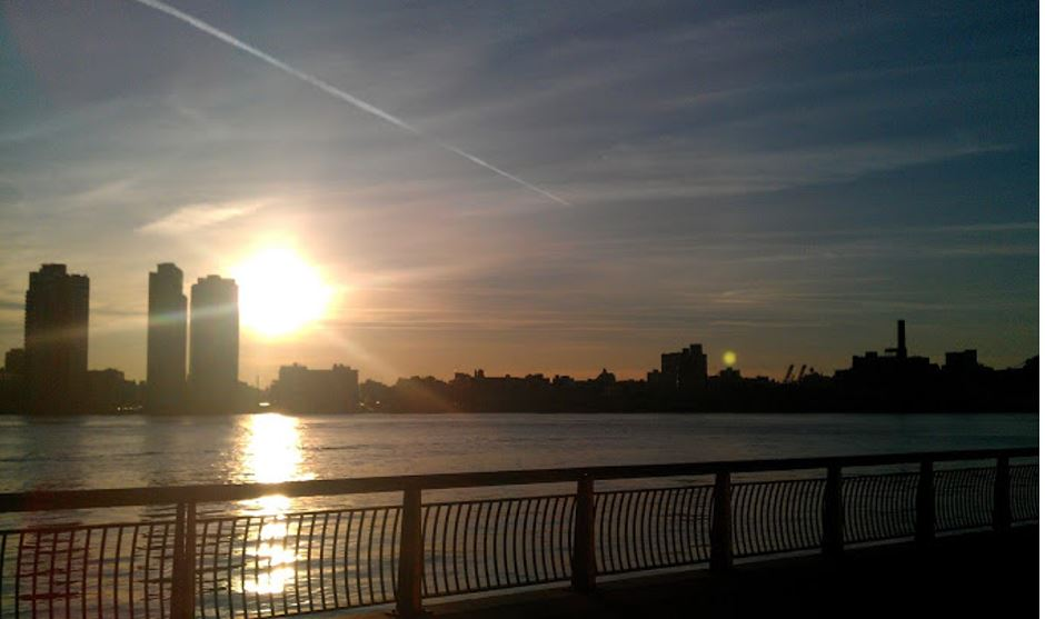 Photo: From a morning run when I was in New York