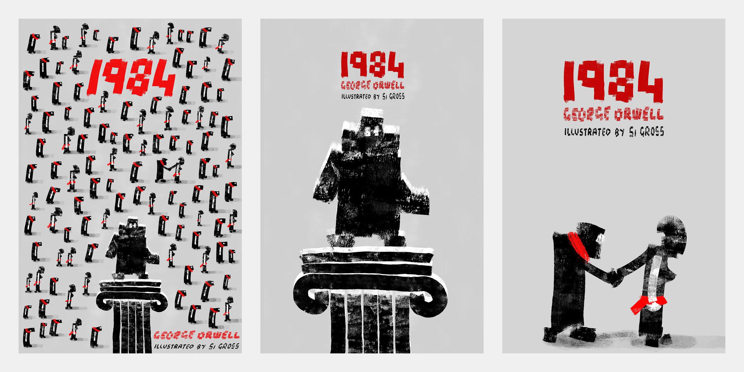1984 Book cover designs