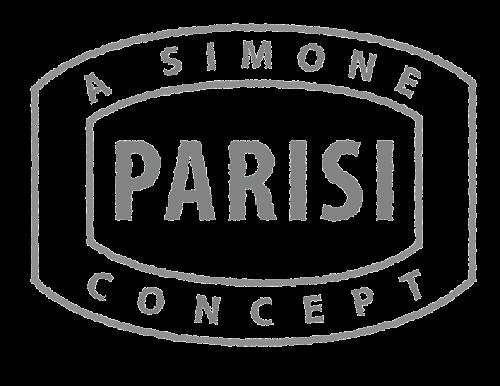 A Simone Parisi Concept - Passport Stamp Graphic/Logo - Grayscale