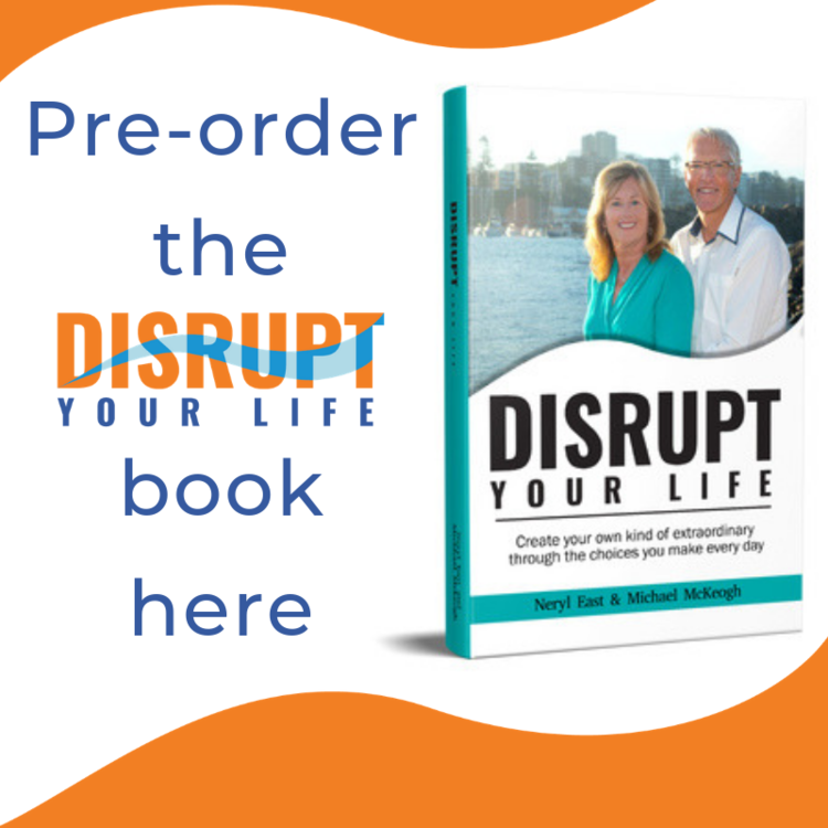 Click on the image to buy Disrupt Your Life - the book