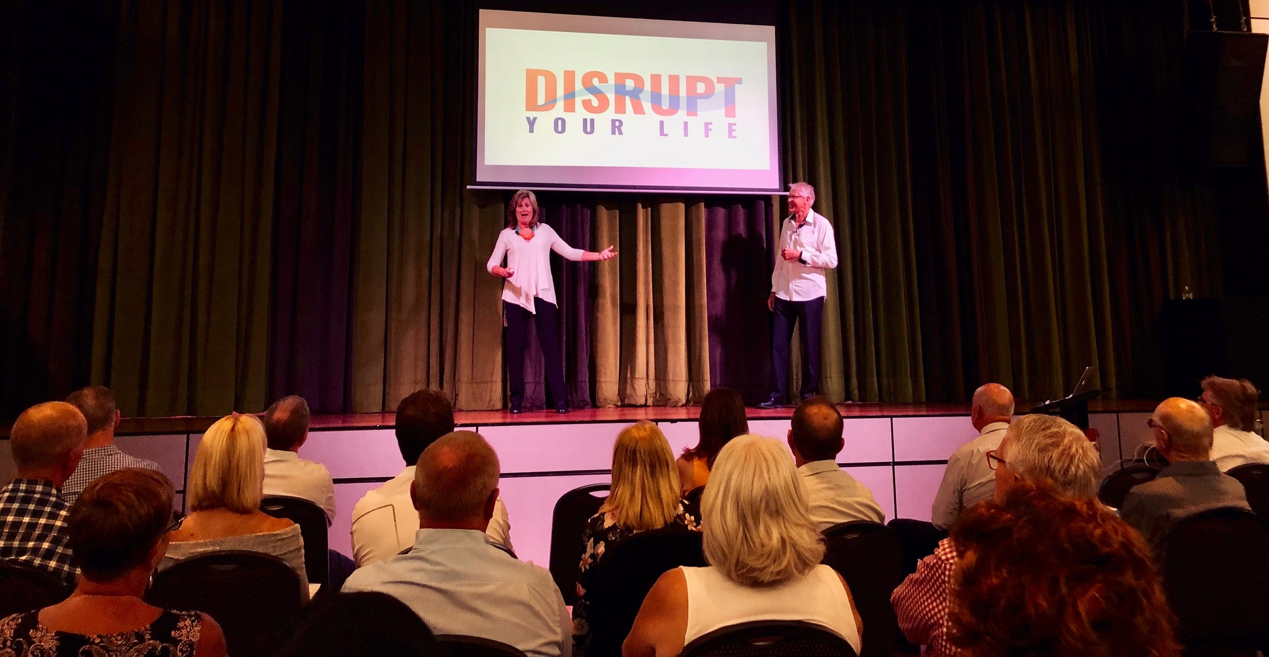 Disrupt Your Life is a compelling presentation for your audience