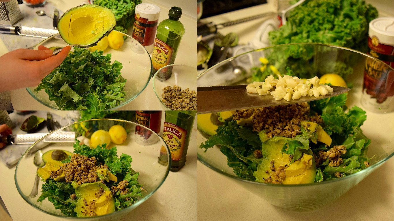 Kale Avocado Pesto Dressing Recipe