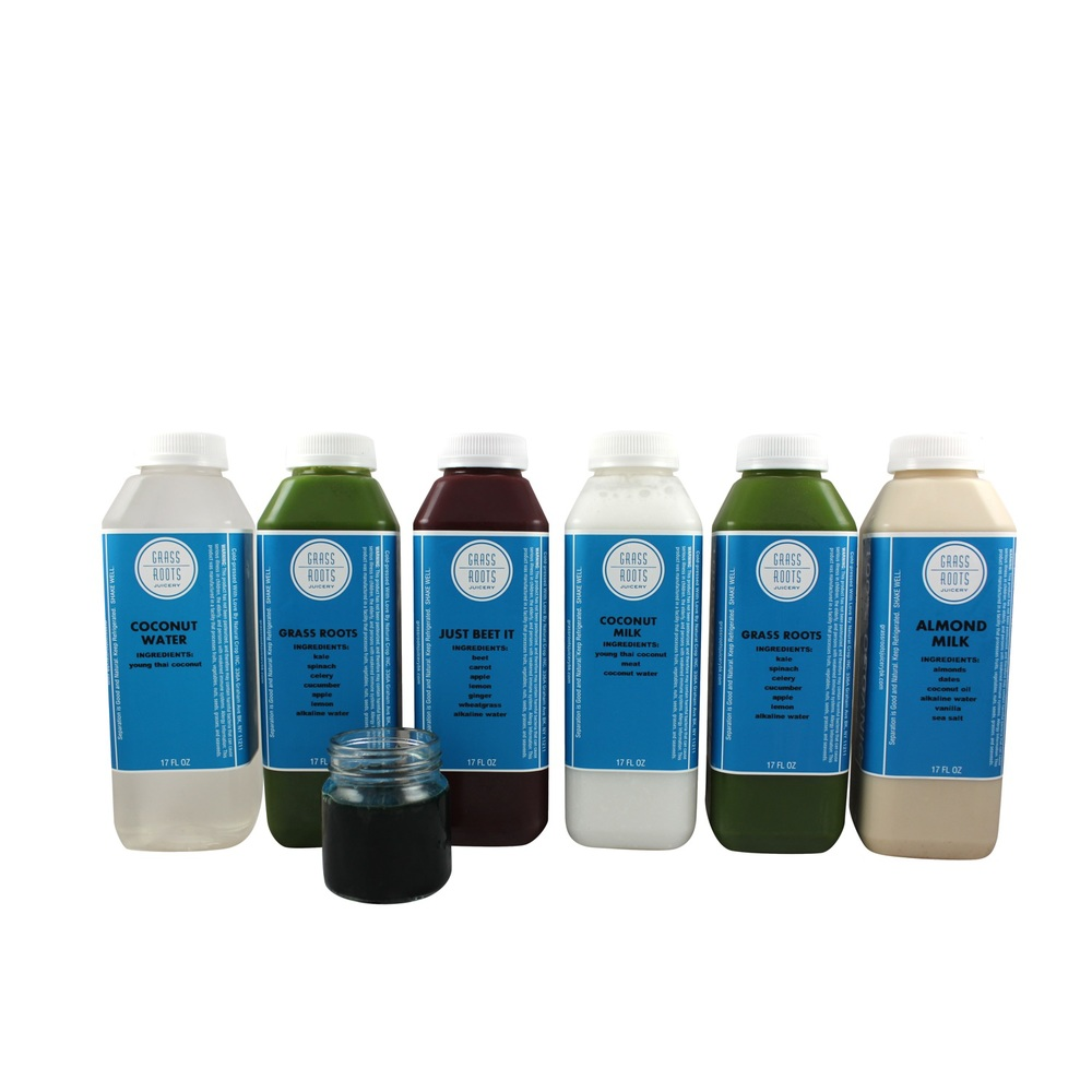 peaceful warrior grass roots juicery cleanse