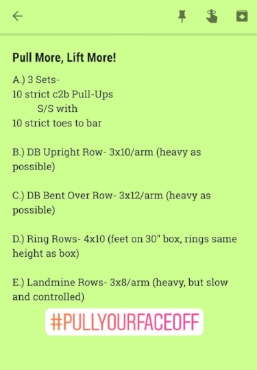 Hit this workout and let me know what you think!