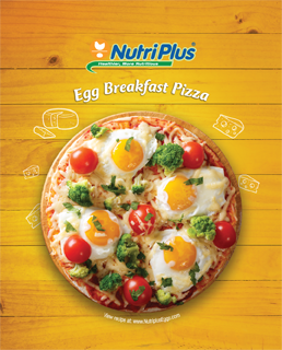 Egg Breakfast Pizza