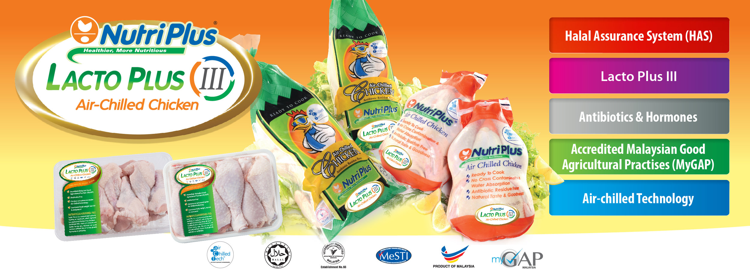 Copy of Lacto Plus III Air-chilled chicken