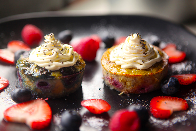 Berries Fruit Muffins