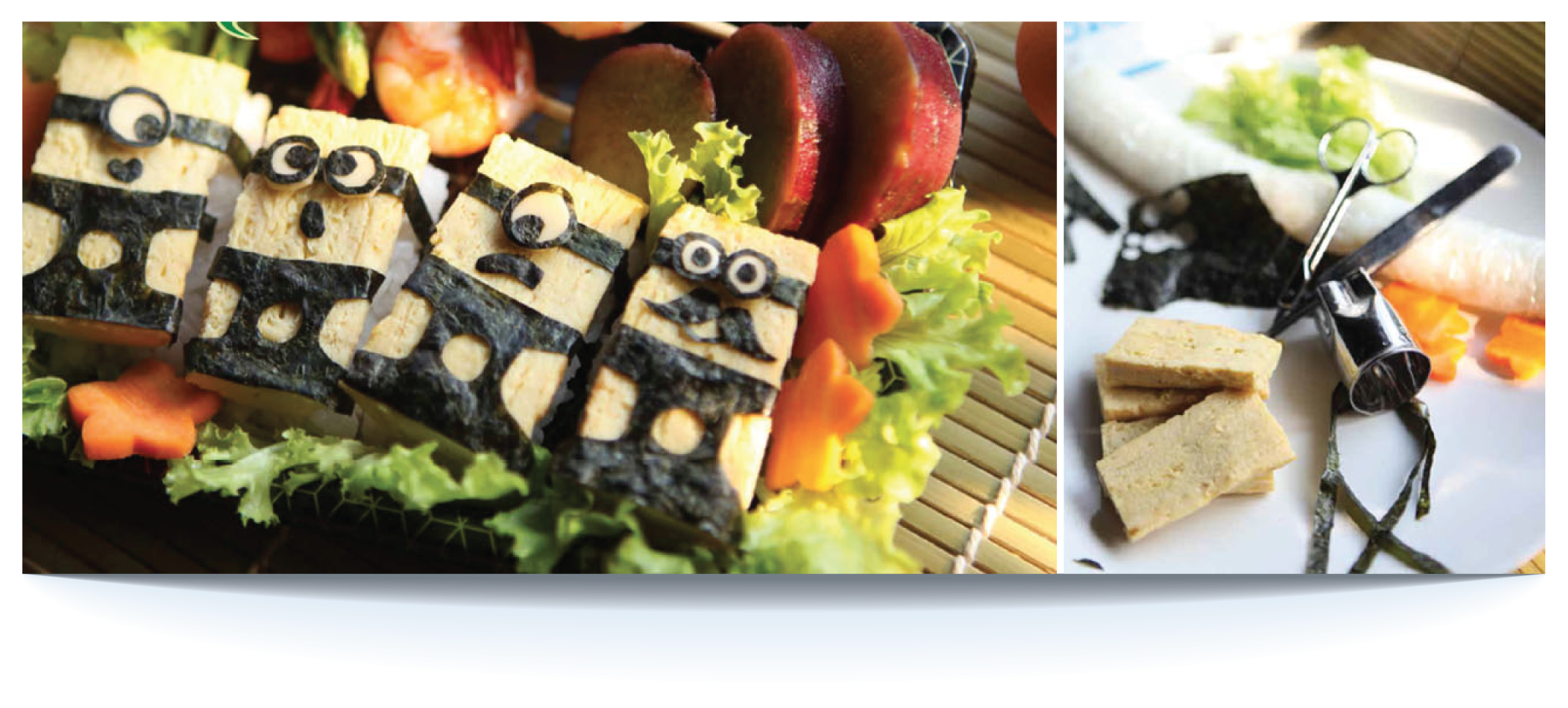 Minions Tomago Sushi Bento