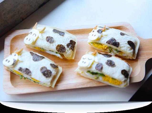 Moo Moo Pocket Sandwiches