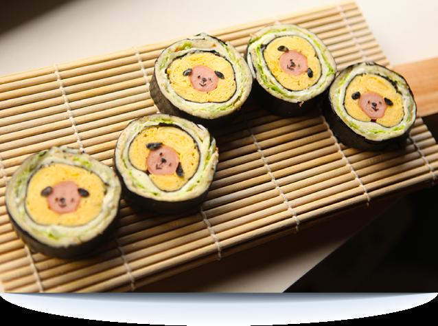 Puppies Bread Sushi
