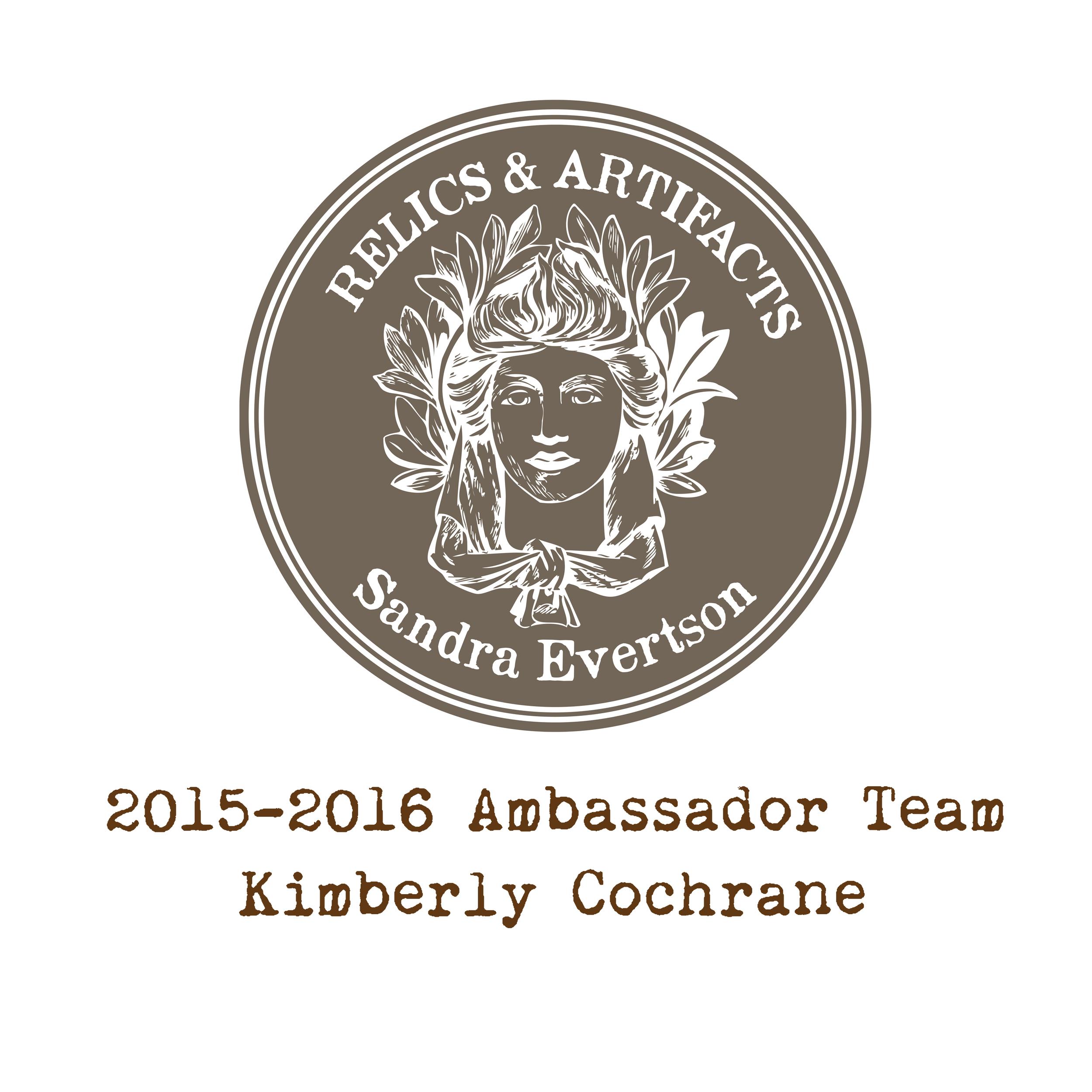 RELICS & ARTIFACTS® Ambassador Snapshot | Kimberly Cochrane