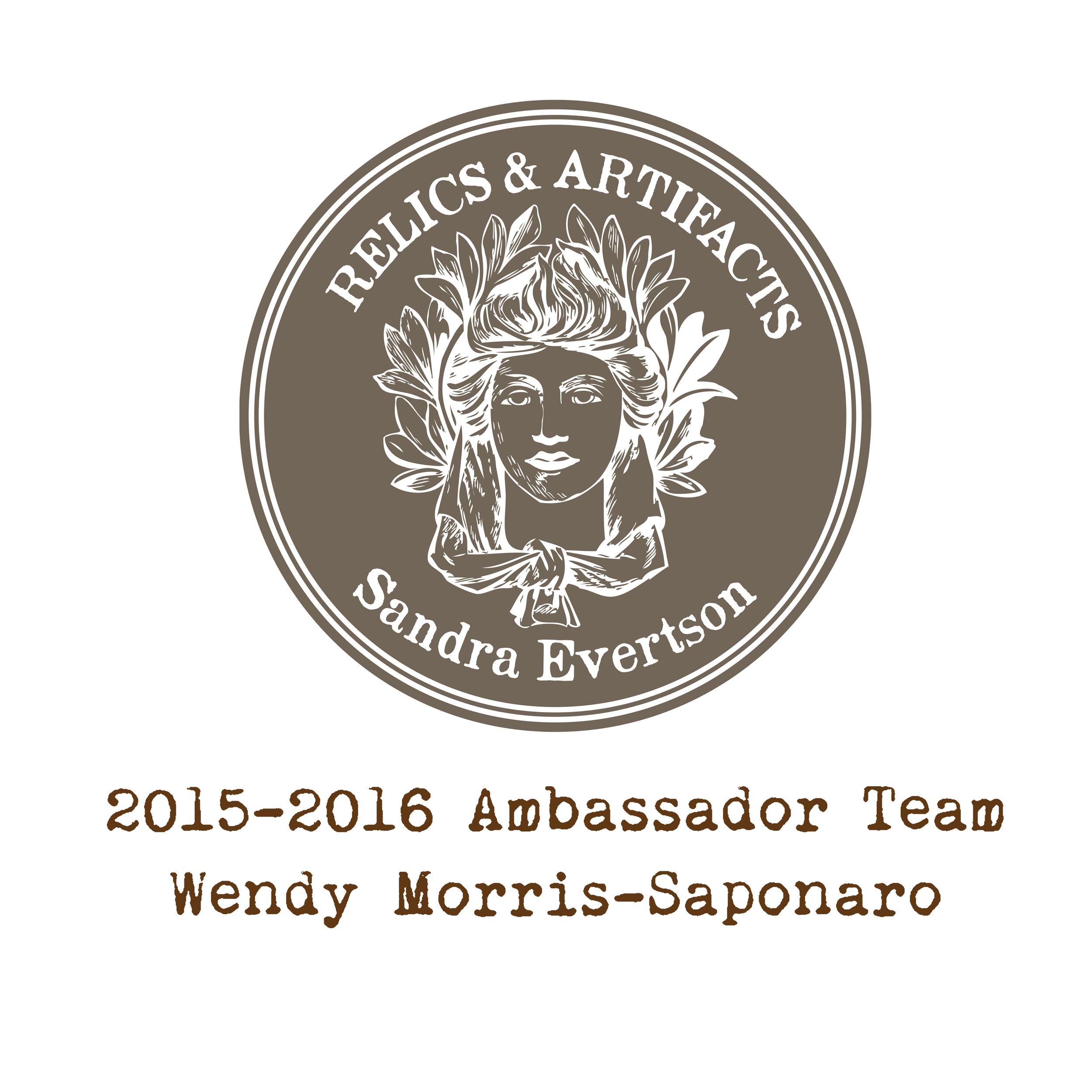 RELICS & ARTIFACTS® Ambassador Snapshot   Wendy Morris-Saponaro, Ambassador Team & Social Media Coordinator