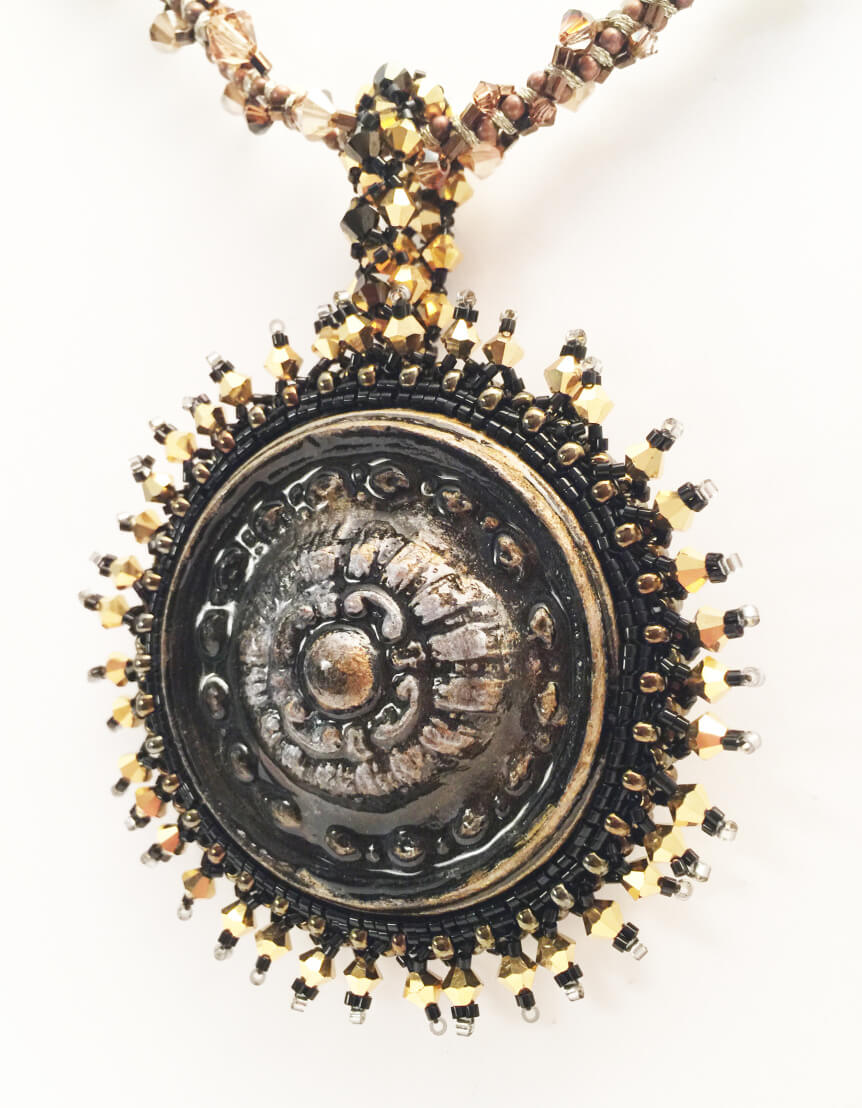 Relic Cabochon Necklace by John Creighton-Petersen