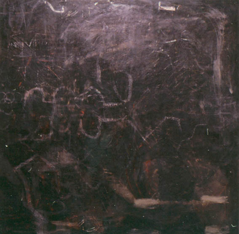 Are | Tina Douglas | 180 x 170cm | Egg tempera on canvas | 1998 | Pinacotheca Gallery, Melbourne | 1995 | Private Collection