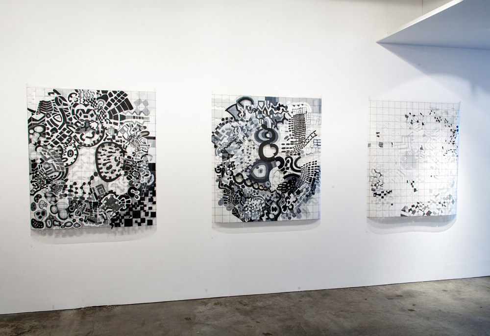Remote Access: Charts for Thinking | Installation view | Place Gallery, Melbourne