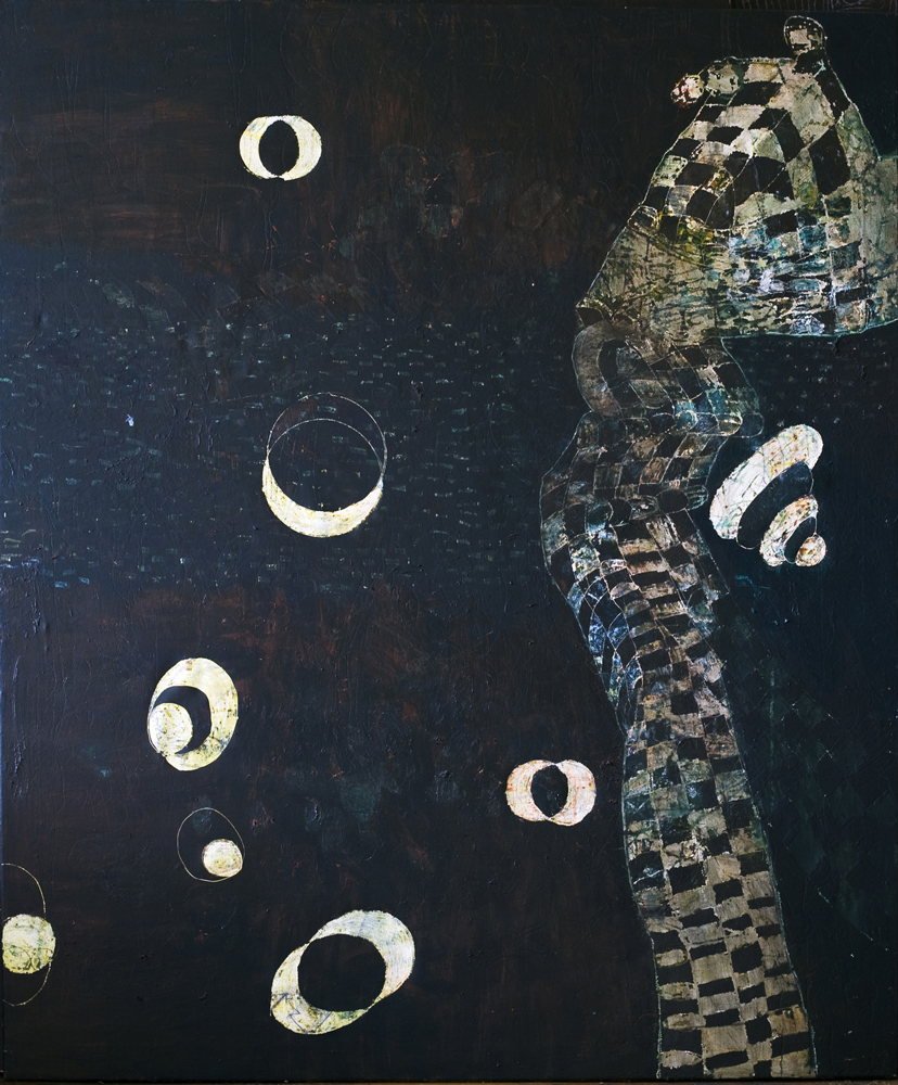 Are-Map   Tina Douglas  1800 x 1500mm   Egg tempera on linen   Place Gallery, Melbourne   1998   Private Colllection