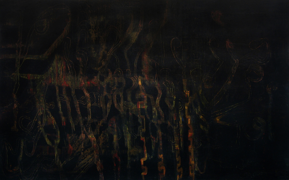 Painting 1 | Tina Douglas | 2004-07 | 243 x 151cm | Place Gallery | Melbourne | 2009