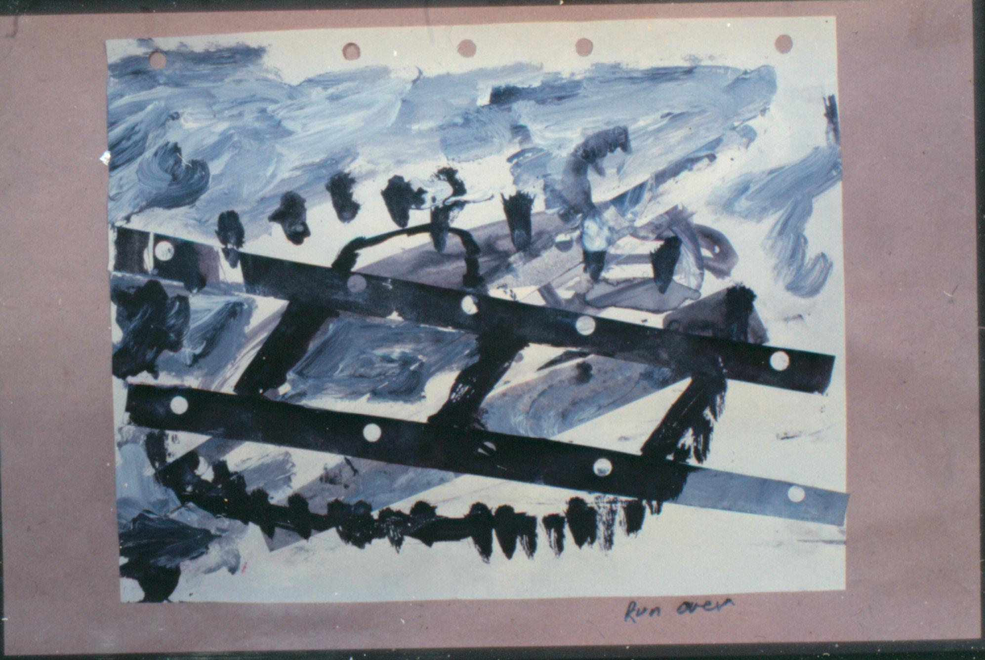 Tina Douglas | untitled | 21 x 30 cm | Acrylic, ink on paper | 1993