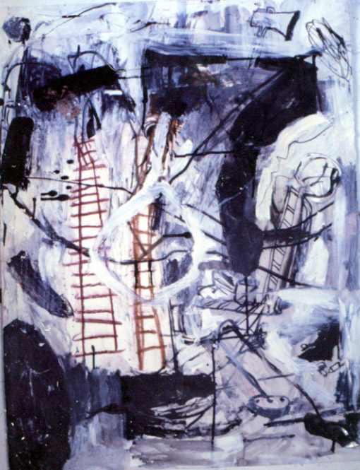 Tina Douglas | untitled | 90 x 60 cm | Acrylic, ink and pastel on paper | 1992