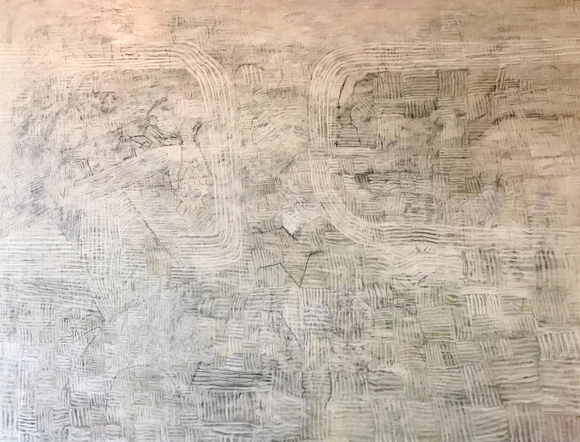 explaination 2014 - 2017 | Egg tempera on linen | 200 x 260 cm