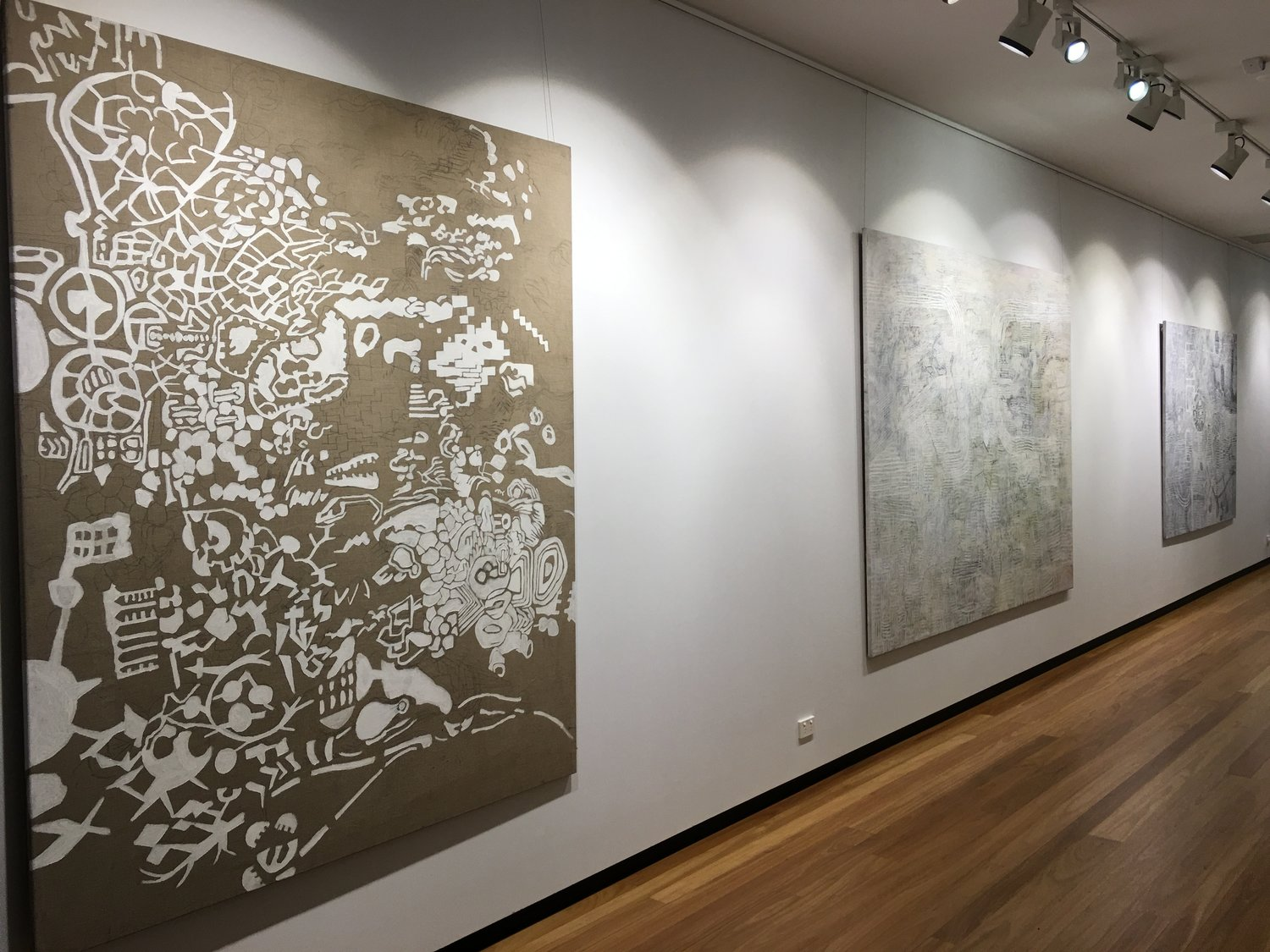 process  2017 (Installation view), Town Hall Gallery, Hawthorn 2017