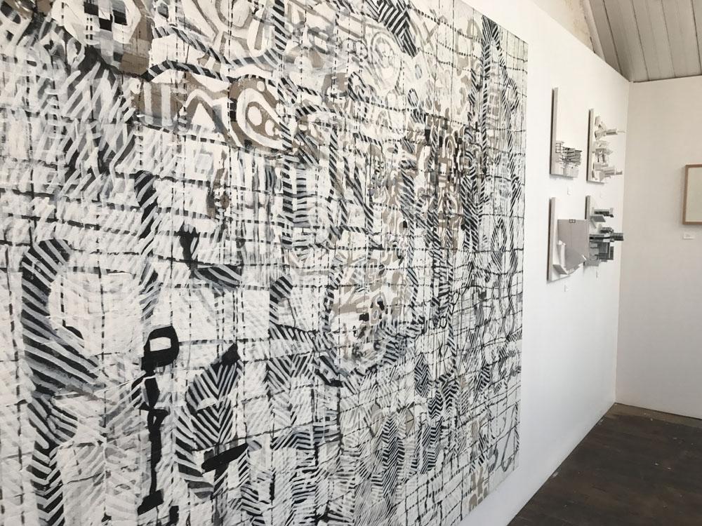 Her Way 2017 (Installation view), Rankins Lane, Melbourne 2017