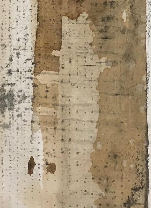 """Page 12  (Detail), monoprint, 20""""x16"""""""