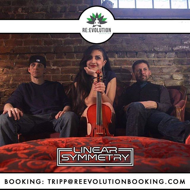 ‼️BIG NEWS‼️ . —  We are happy to announce we are now with Re:Evolution Booking! . We are so excited to be a part of the Re:Evolution family! Thank you so much to Tripp Gray for coming on as our new booking agent, and to John Gallup, our manager! ❤️ . Feel free to check out our page live on the website now: https://reevolutionbooking.com/artists/linear-symmetry/ . We love y'all! 😊💕