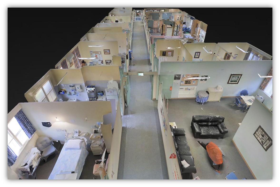 Narrogin Hospital Ward - 3D View