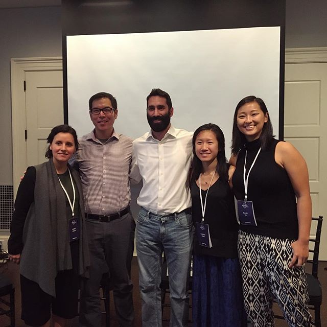 Just had an awesome, thoughtful panel discussion with these wonderful folks speaking on the role of design in creating medical devices—with Maria Paula / Be Girl, Virgil Wong / Medical Avatar, Ellen Su / Wellinks, and the amazing moderator Ian Gonsher / Brown University Engineering. Thanks for including us in the conversation! Excited to learn lots more this weekend at Better World by Design 🔃 #interplay #bwxd16 @betterxdesign @risd1877 @brownu @risdmuseum #humancentereddesign #designthinking #socialinnovation #socialentrepreneurship #medicaldesign #industrialdesign #risd #brown #pvd