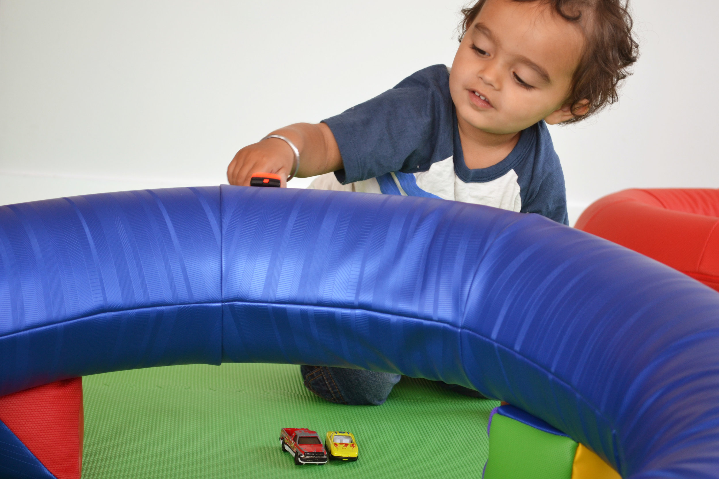 Race Track! (Incorporate other toys)