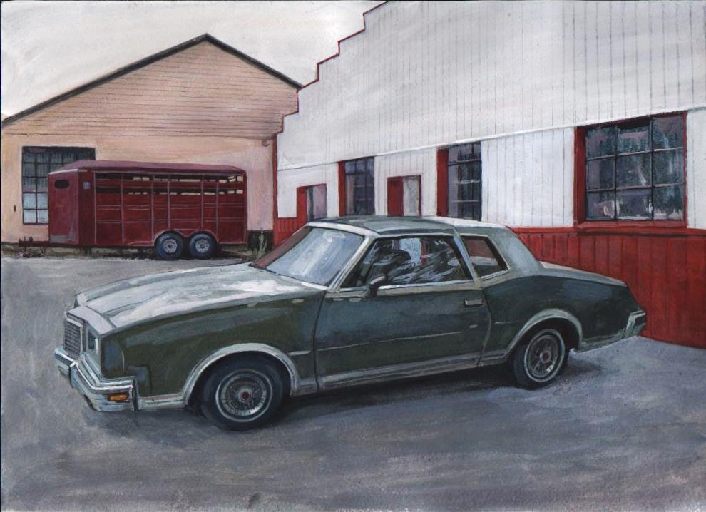 Retro car 4