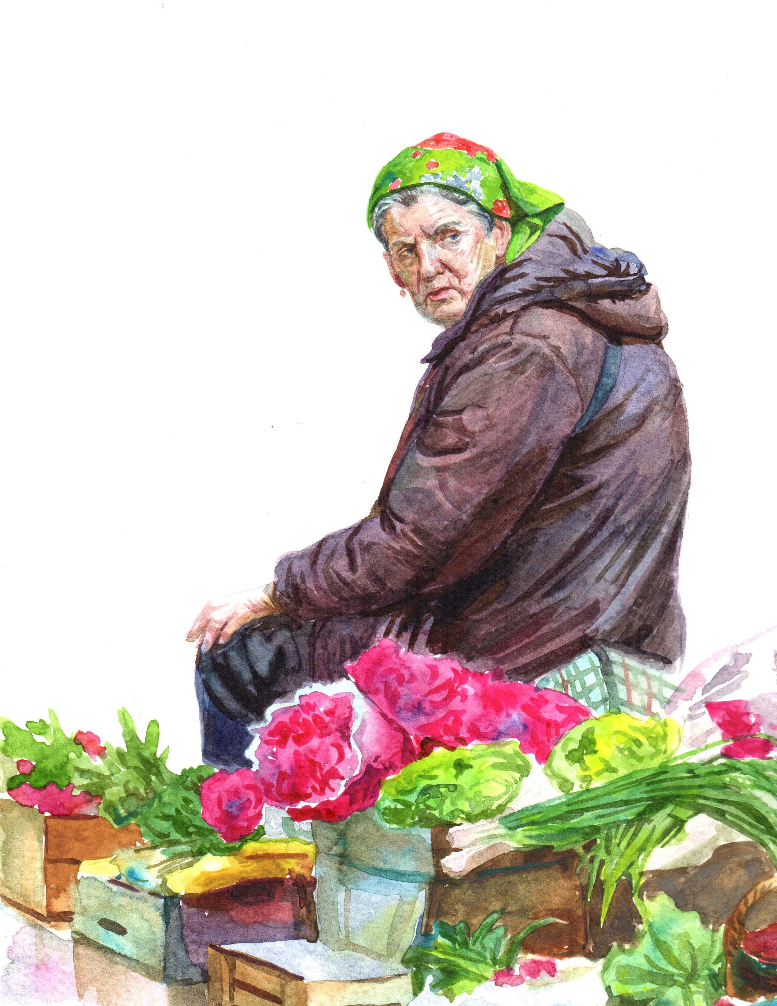 Flower Market 1