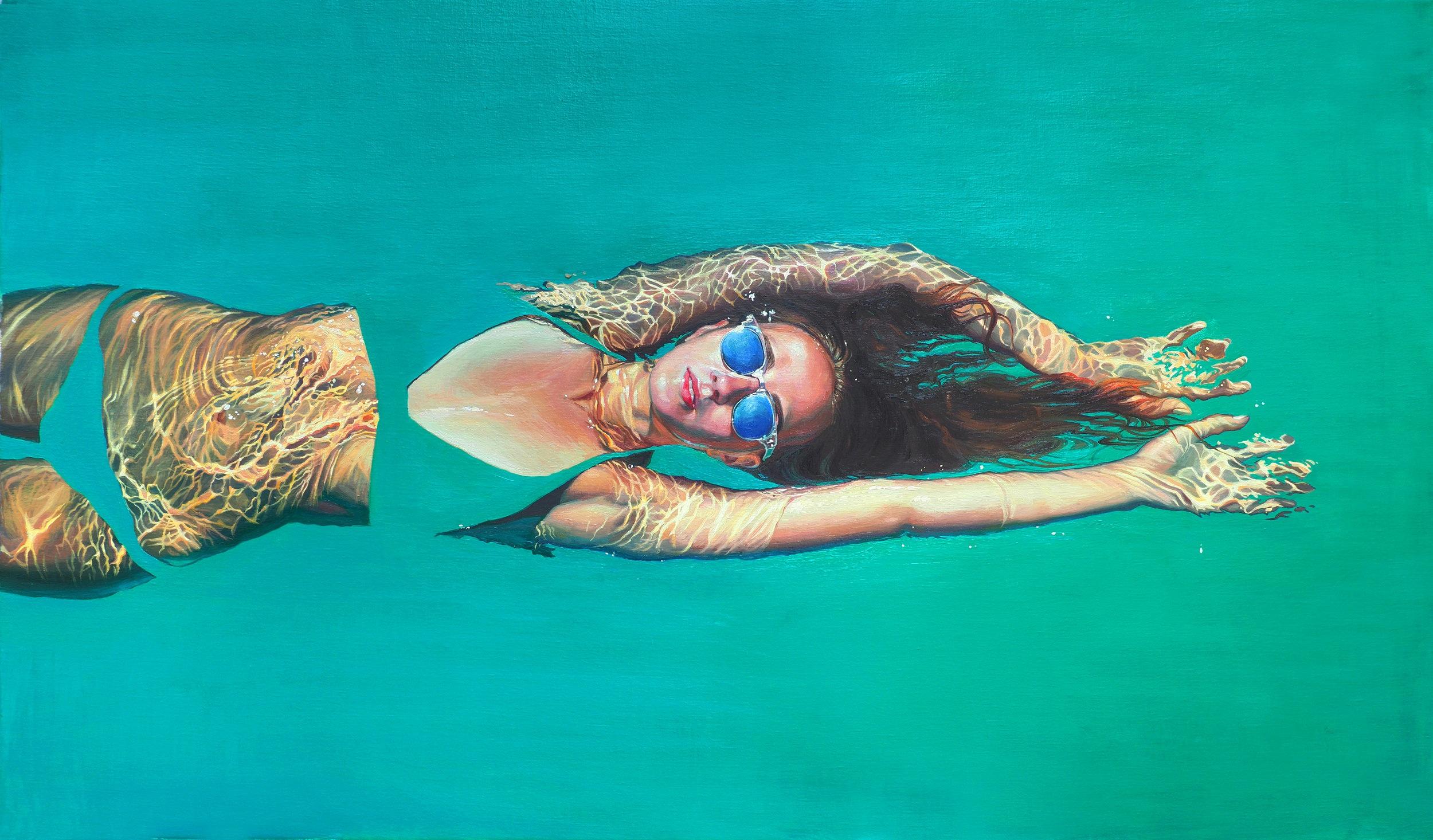 85 x 140 Oil on canvas