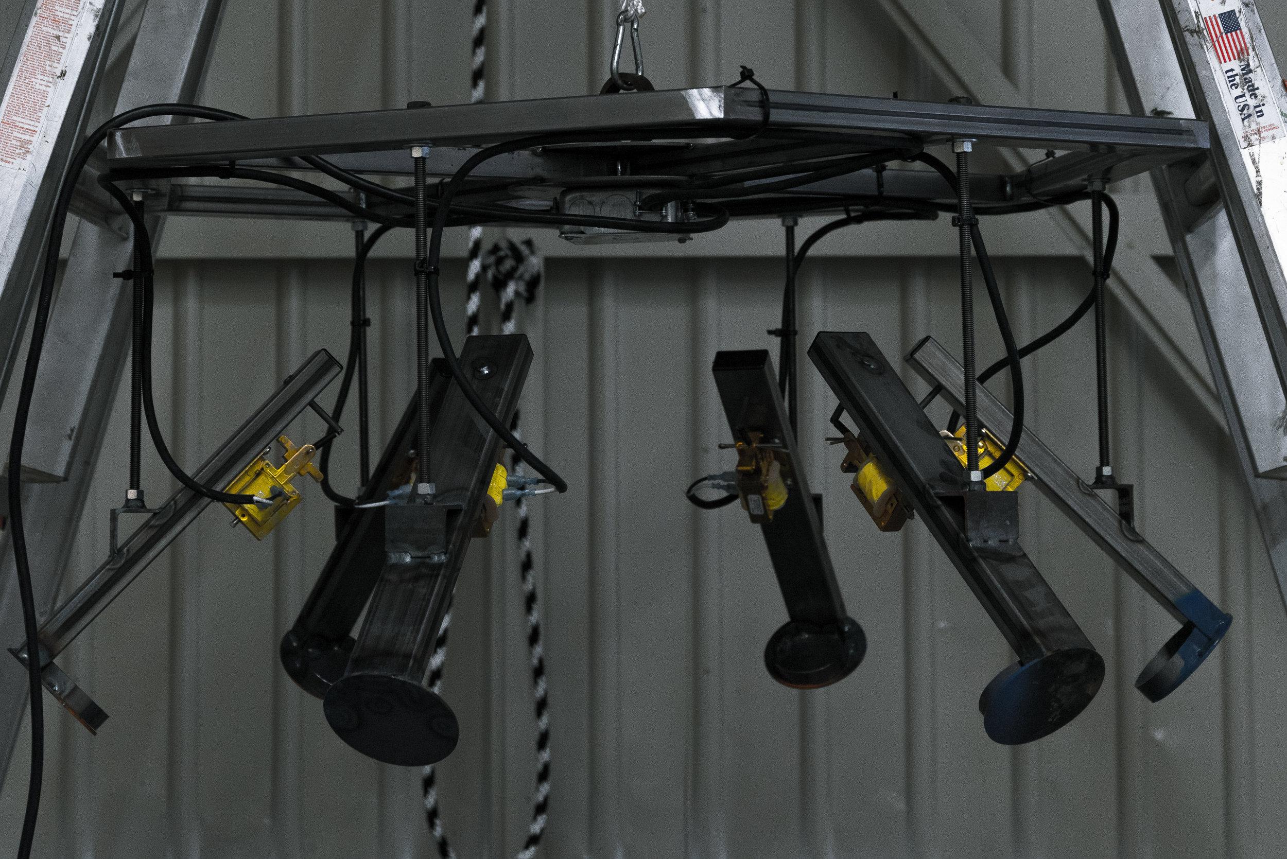 Robotic sprayer system