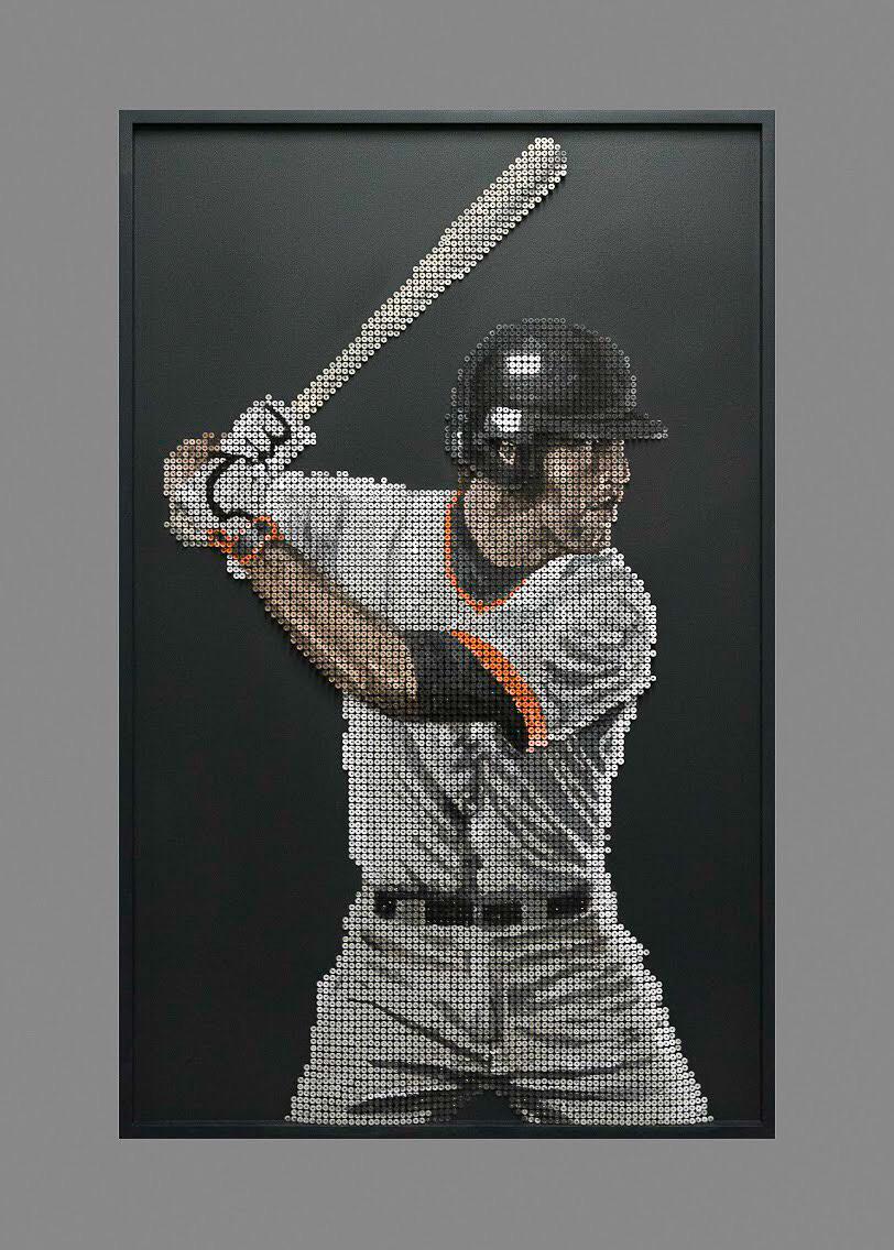Giants baseball artwork