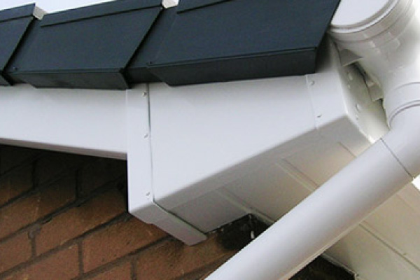 FASCIAS & SOFFITS - Replacement fascias, soffits, bargeboards and guttering.