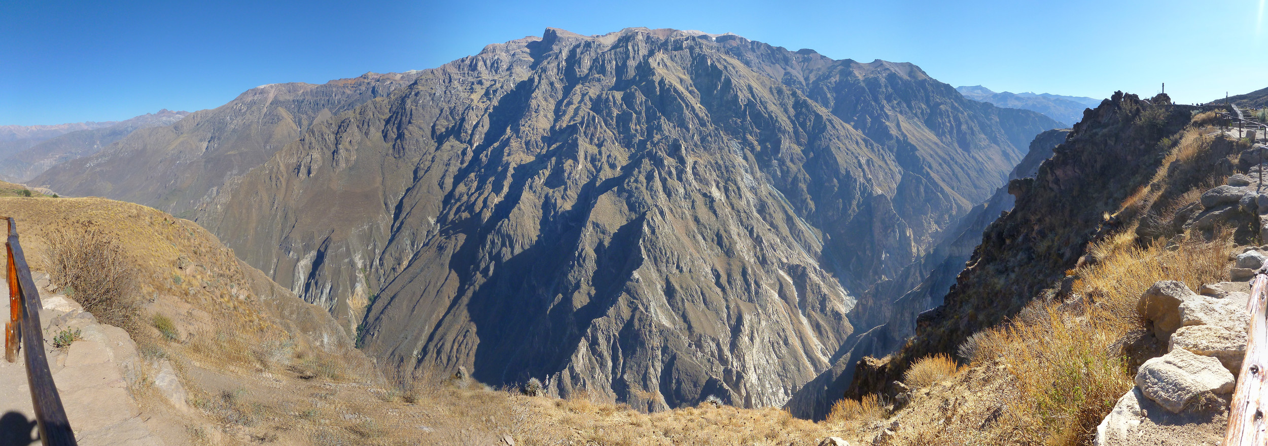 The mighty Colca canyon.