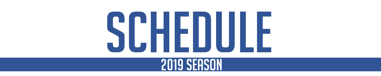 Please Note: The below schedule represents the final schedule from our winter 2017 season. Check back later this fall for our winter 2018 schedule!