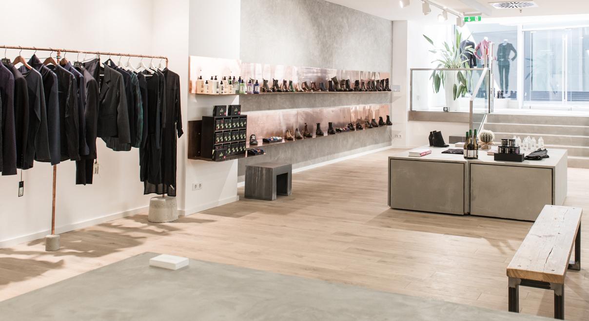 GLANZSTÜCK CONCEPT STORE - Eine Kombination exklusiver Marken aus den Bereichen Bekleidung, Schuhe, Accessoires, Genuss und Wohlbefinden.