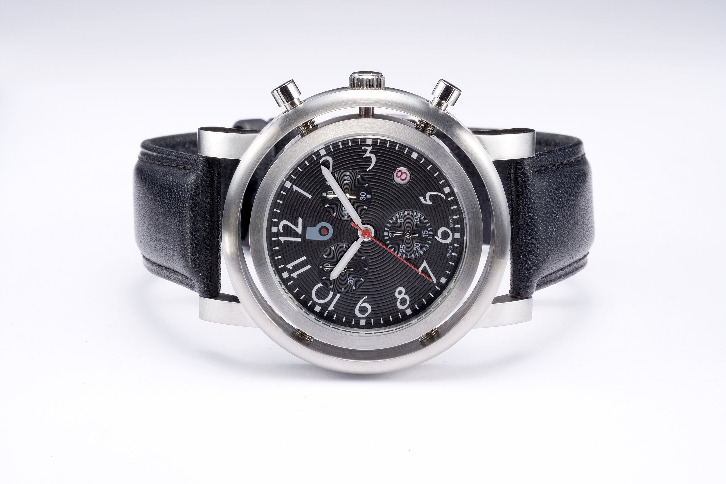 0185 GEOSPORTSTER CHRONO LEATHER FRONT black face.jpg