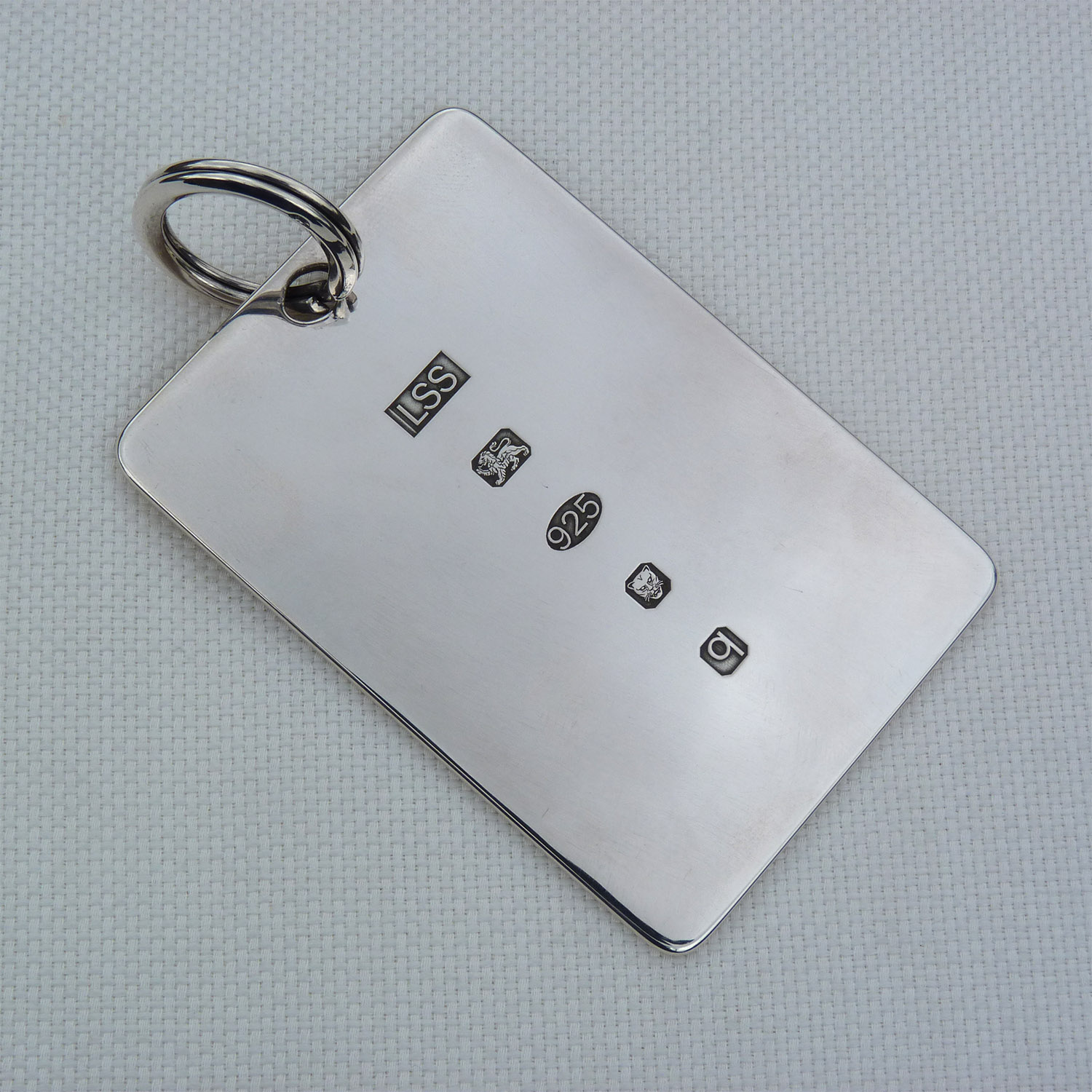 Heavy Silver Key Fob