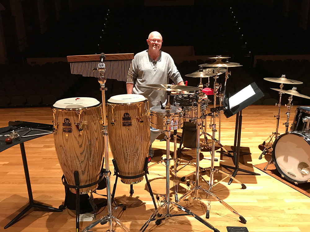 Ed Freytag, Guest Faculty Percussion