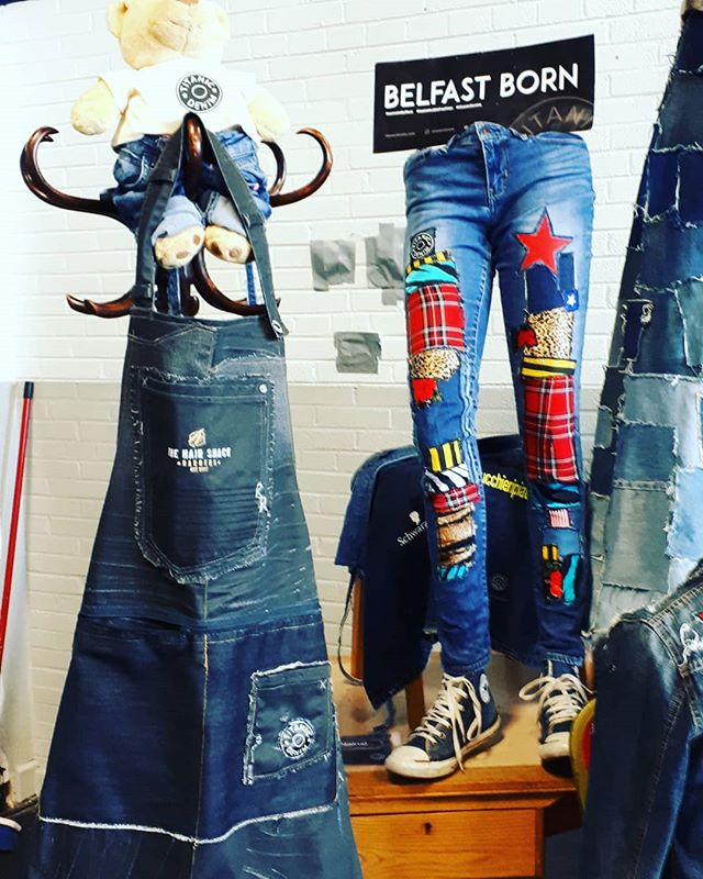 This week we celebrate FASHION REVOLUTION WEEK worldwide!  A global movement calling for greater transparency in the fashion industry. Ask #whomademyclothes and check out #fashionrevolutionweek2019  @titanicdenim will be celebrating at @belfastcitycouncil Spring Fair where we will be holding creative workshops on transforming unwanted jeans that could possibly have otherwise ended up in landfill. #saynototextilewaste #recycle #reuse #sustainabledenim #sustsinabledesigns #reclaimedjeans #reclaimeddenim #belfastcitycouncil #belfast