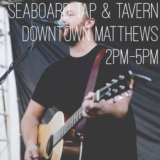 Playing today at @seaboardbrewing from 2-5. Come hang with me!